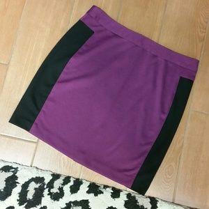 Kenar Two-Tone Mini Skirt size 10